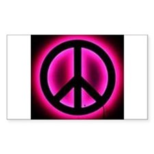 Neon Peace Decal