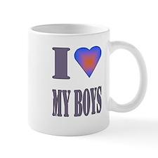 I heart my boys Mug