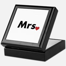Mr and Mrs Keepsake Box