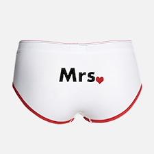 Mr and Mrs Women's Boy Brief