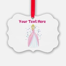 Personalize This Princess Ornament
