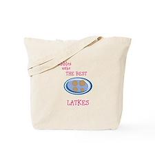 Bubbles and latkes Tote Bag