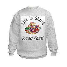 Cute Avid reader Sweatshirt