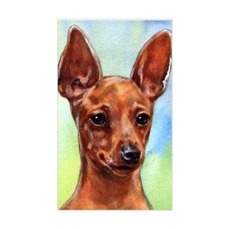 MinPin Sticker (Rectangle)