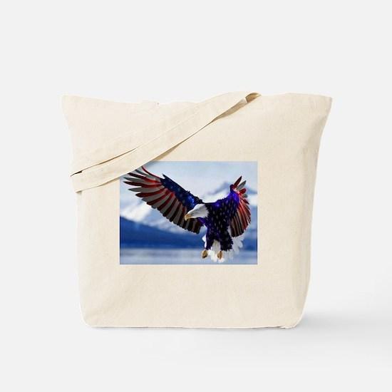 All American Eagle Tote Bag