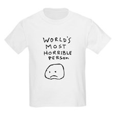 World's Most Horrible Person T-Shirt