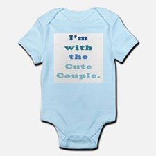 Im With the Cute Couple Infant Bodysuit