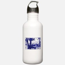 1947 Morocco Marrakesh Postage Stamp Water Bottle
