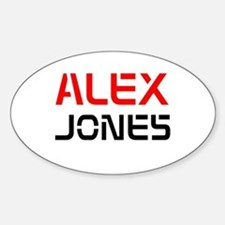 alexjones Sticker (Oval)