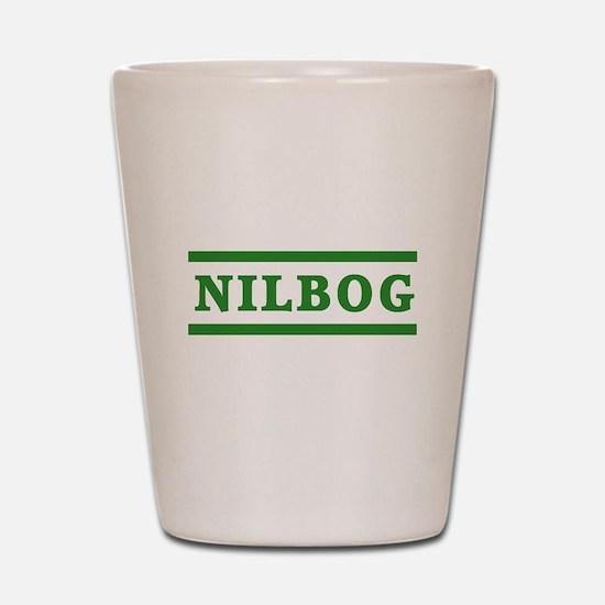 Troll 2 Nilbog Shot Glass