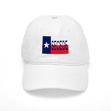 Texas Secede Flag Ball Baseball Cap