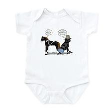Black Lab Cowboy Infant Bodysuit