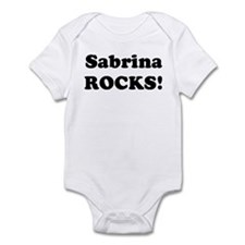 Sabrina Rocks! Infant Bodysuit