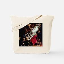 Decent of the Cross Rubens 16 Tote Bag