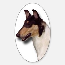Collie head Decal