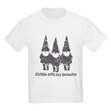 Chillin with my gnomies T-Shirt