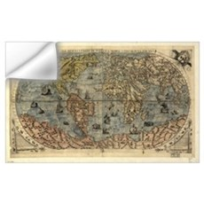 16th century world map Wall Decal