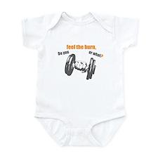 Feel the Burn Infant Bodysuit