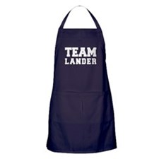 TEAM LANDER Apron (dark)