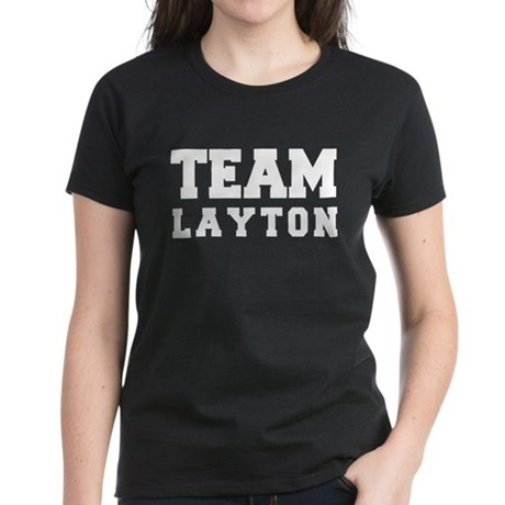 TEAM LAYTON Women's Dark T-Shirt