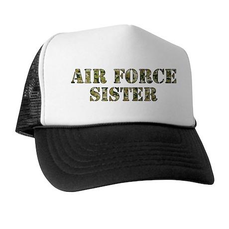 Camo Sister Trucker Hat