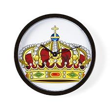 Royal Crown 13 Wall Clock