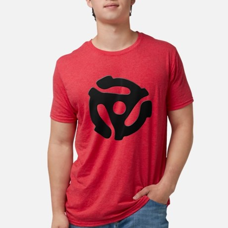 45 RPM Adapter Mens Tri-blend T-Shirt