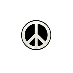 World Peace Mini Button (100 pack)