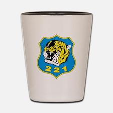 221 squadron Shot Glass