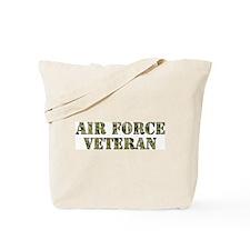 Camo Veteran Tote Bag