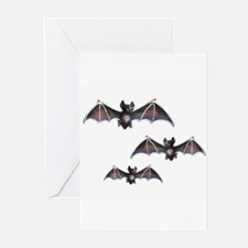Bats Greeting Cards (Pk of 10)