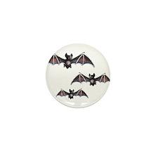 Bats Mini Button (10 pack)