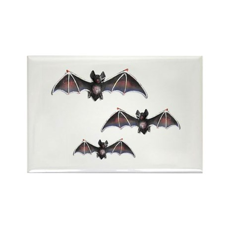 Bats Rectangle Magnet (10 pack)