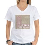 I Survived the Mayan Apocalypse Women's V-Neck T-S