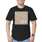 I Survived the Mayan Apocalypse Men's Fitted T-Shi
