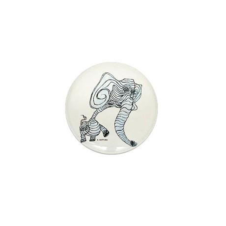 Electric goldfish Mini Button (100 pack)