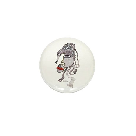 Head Mini Button (10 pack)