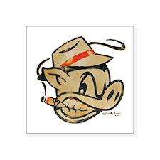 Smokin Pig by Elliott Mattice sticker