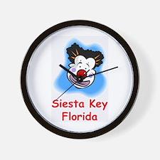 Mophead Siesta Key Wall Clock