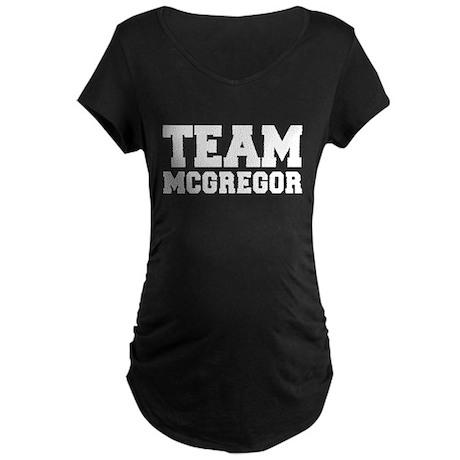 TEAM MCGREGOR Maternity Dark T-Shirt
