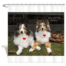 You and Me, forever Shower Curtain