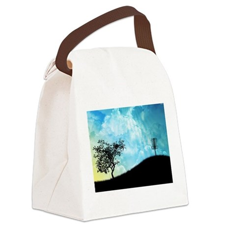 Basket On A Hill #2 Canvas Lunch Bag