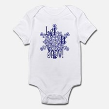 Snow Infant Bodysuit