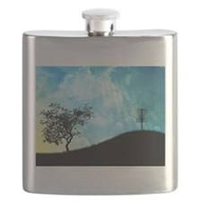 Basket On A Hill #2 Flask