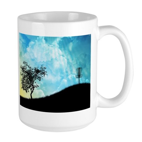 Basket On A Hill #2 Large Mug