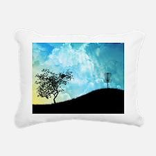 Basket On A Hill #2 Rectangular Canvas Pillow