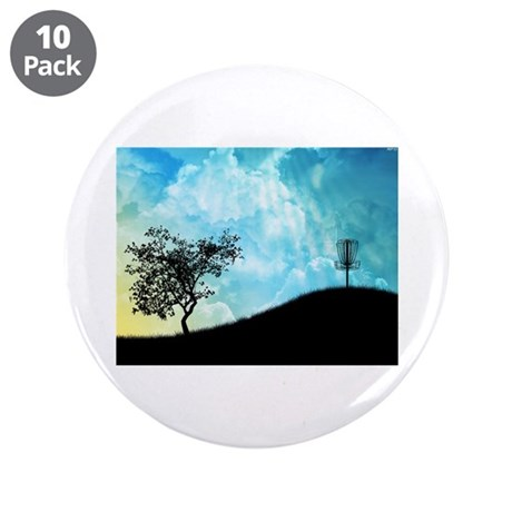 """Basket On A Hill #2 3.5"""" Button (10 pack)"""