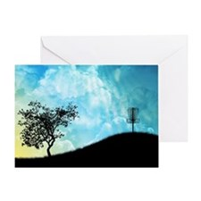 Basket On A Hill #2 Greeting Card