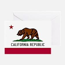 California Flag Greeting Cards (Pk of 20)