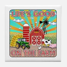 The Farm Tile Coaster